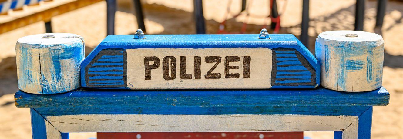Die Polizei besucht die Sonnenscheinkinder